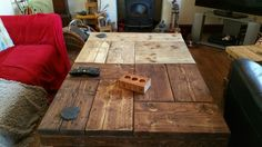 Rustic Coffee Table #6 and #7