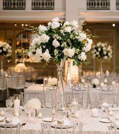 Featured Photographer: Sincereli Photography; wedding centerpiece idea
