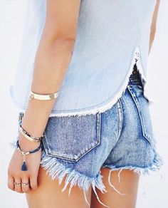 chambray + denim #oneteaspoon