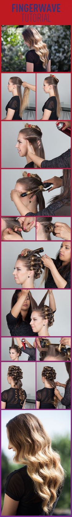 How To Finger Wave: Get Inspired By Our Tutorial by liz