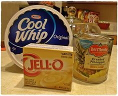 Add pecans, peeled and cut green apples  and butterscotch pudding as well... even better desert :) yum