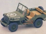 WWII Willys MB Jeep Ver.3 Free Paper Model Download