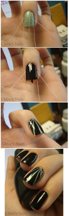 Links to a BUNCH of nail design how-to's.