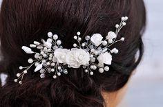 Hair Comb Wedding, Headpiece Wedding, Wedding Hair Pieces, Bridal Headpieces, Bridal Hair Flowers, Pearl Headband, Bridal Gifts, Wedding Hair Accessories, Wedding Hairstyles