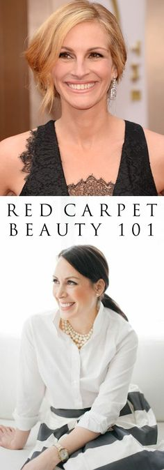 How to get Julia Robert's classic red carpet looks with @Olay @COVERGIRL @Clairol Color #HerbalEssences   #IRL