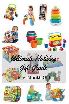 6 month old xmas gifts