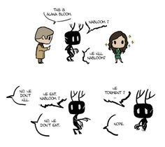 Hannibal, Alana and Wendigo!