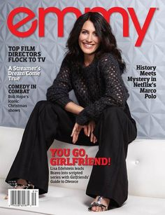 Check out Issue of the award-winning emmy® magazine featuring star of Girlfriends' Guide to Divorce, Lisa Edelstein on the cover Lisa Cuddy, Girlfriends Guide To Divorce, Lisa Edelstein, Top Film, Chloe Bennet, House Md, Bob Hope, Hugh Laurie, Christmas Shows