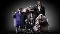 Es kommt ein neuer animierter The Addams Family Film Addams Family Members, Die Addams Family, Adams Family, Oscar Isaac, Charlize Theron, Bette Midler, Chloe Grace Moretz, The New Yorker, Snoop Dogg