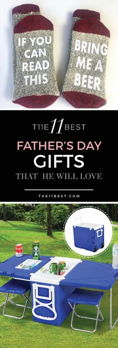 Father's Day Gift Ideas. The BEST gifts that he will actually want. Fun and funny Father's Day ideas.