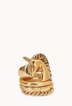Whimsical Unicorn Ring Set | FOREVER21 - 1000050828
