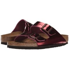 bacff1dbe71 Birkenstock Arizona Soft Footbed Women s Toe Open Shoes ( 135) ❤ liked on  Polyvore featuring