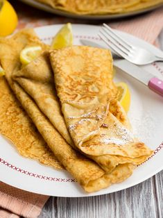 We love these thin pancakes! Make this easy thin pancake recipe for breakfast or brunch. Get tips and tricks so you always make the perfect pancake. You might call this a crepe or an English pancake. Recipe on . Thin Pancakes, Breakfast Pancakes, Breakfast Menu, Breakfast Time, Brunch Recipes, Breakfast Recipes, Pancake Recipes, Cookie Recipes, Dessert Recipes