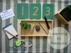 Reggio activities - Learning to measure from An Everyday Story