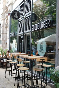 Budapest--haha welcome to Good Burger, home of the Good Burger.  I wonder if they have orange soda.
