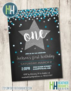 Winter onederland boy birthday invitations arctic boy invitation boy first birthday chalkboard invite 1st birthday printable invitation navy turquoise and silver glitter filmwisefo