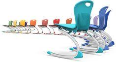 Zuma Series Rocking Chair. Ideal para aulas en las que el movimiento fomenta la creatividad! #MoberVaContigo by Virco