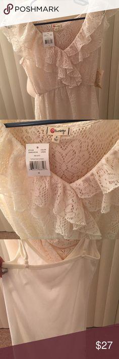 ⬇️New Cream mini Dress New mini dress Dresses Mini