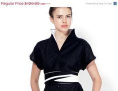 Christmas in July Japanese Kimono Dress Summer by LayouDesign, $108.00