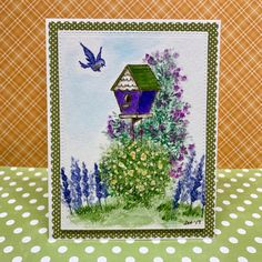 Art Impressions Rubber Stamps - The Wonderful World of Watercolor