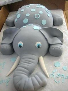 baby shower cake ideas elephant party plans