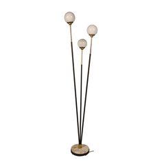 1960's Stilnovo Three Ball Floor Lamp