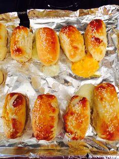 Cheese stuffed pretzel bites!