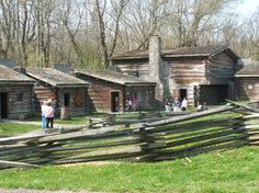 Fort Boonesborough, Kentucky.  A living history museum.  http://parks.ky.gov/parks/recreationparks/fort-boonesborough/default.aspx