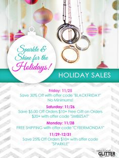 Spilled Glitter has tons of great sales lined up for you this #HolidaySeason! Start Shopping Early and Find Coupon Codes Here! https://spilled-glitter.com/2016-holiday-sales/