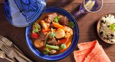 This flavoursome Lamb Tagine has us dreaming of Morocco!  #spice #dinner #recipe
