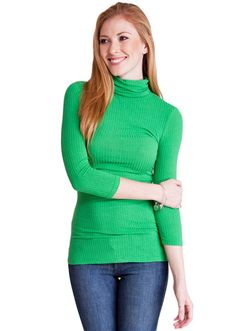 Grab a warm Ribbed Turtleneck if you're still feeling cold #winterfashion #turtlneck #ribbedtop #casualtop