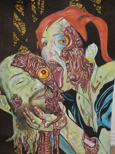 our zombie portrait created by Rob Sachetto