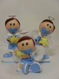 Fofuchos bautizo Baby shower