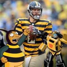Steelers the fat bumblebees lol Football Is Life, Best Football Team, Football Fans, Pitsburgh Steelers, Here We Go Steelers, Steelers Stuff, Pittsburgh Sports, Pittsburgh Pirates, Funny Sports Pictures