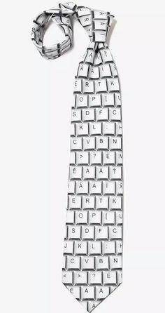 - Keyboard Tie