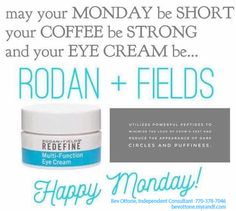Rodan + Fields Redefine Multi-Function Eye Cream uses powerful peptides to minimize the look of crows feet, puffiness and dark circles.