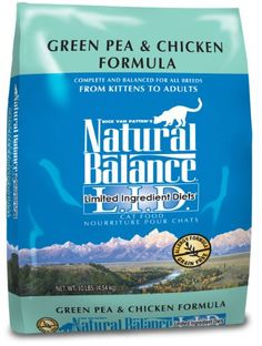 If you love them, feed them right More info http://www.NaturalBalanceCatFood.net