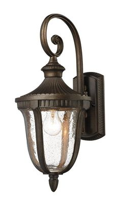 $116 - Buy the Elk Lighting 27000/1 Hazelnut Bronze Direct. Shop for the Elk Lighting 27000/1 Hazelnut Bronze 1 Light Outdoor Sconce from the Worthington Collection and save.