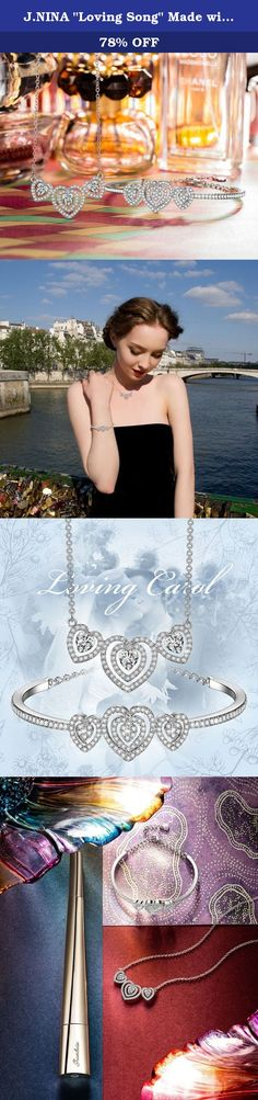 "J.NINA ""Loving Song"" Made with Swarovski Crystals Silver Heart Shaped Design Necklace Bracelet Jewelry Set. ABOUT J.NINA JEWELRY ♫Company and Brand Introduction J.NINA provide all ladies and girls the beautiful and elegant design jewelries. Jewelries are meant to mark special moments in life. All of the jewelries are ideal as a gift to yourself or loved one. The J.NINA jewelries are suitable for every life event. One can see to recall a first date, a party, a birthday, a wedding, a…"