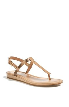 8125a532c4cc Cole Haan  Boardwalk  Leather Thong Sandal Cole Haan