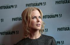 Photograph 51 cast member Nicole Kidman poses for a photograph at the Noel Coward Theatre in London, September 7, 2015. REUTERS/Suzanne Plunkett