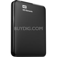 Western Digital 2 TB WD Elements Portable USB 3.0 Hard Drive Storage $89 with code: HDDTEN