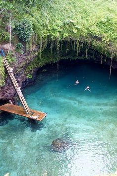 how is this real // To Sua Ocean Trench, Lotofaga, Samoa.