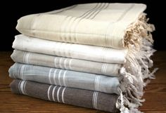 Great source for linen towels. only 35$ Classic Pestemal Bath Towel -  Neutrals_image