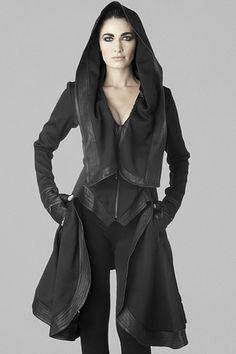 "askshivanulegacy: "" declencheurs: "" Gelareh designs coats "" You mean Sith fashion. Grunge Goth, Dystopian Fashion, Post Apocalyptic Fashion, Alexander Mcqueen, Dark Fashion, Boho, Steampunk, Fashion Outfits, Womens Fashion"