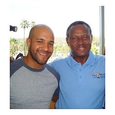 THINK BLUE: #FBF: Happy Birthday to Manny Mota Orgullo Dominicano!!! Your tenacity talent and determination has inspired many of us and personally you have played a key part in my story!!! Eternally grateful to you and your family O. #CaribbeanSoul  #MannyMota #LADodgers #Dominicano #MLB by omarperezthen