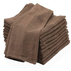 12 new 100/% cotton linens bath towels commercial grade gym hotel motel 20x40