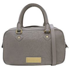 NWT Marc By Marc Jacobs WASHED UP VALENTINA Satchel Light Grey $428 #MarcbyMarcJacobs #Satchel
