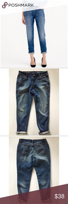 J. Crew Broken In Boyfriend jeans • size 28 J crew broken in boyfriend jeans, size 28. 15.5 inches across waist, 9.5 inch rise 29.5 inch inseam unrolled. Great preowned condition! J. Crew Jeans Boyfriend