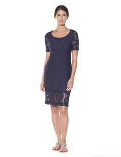 Lucia Lace Navy